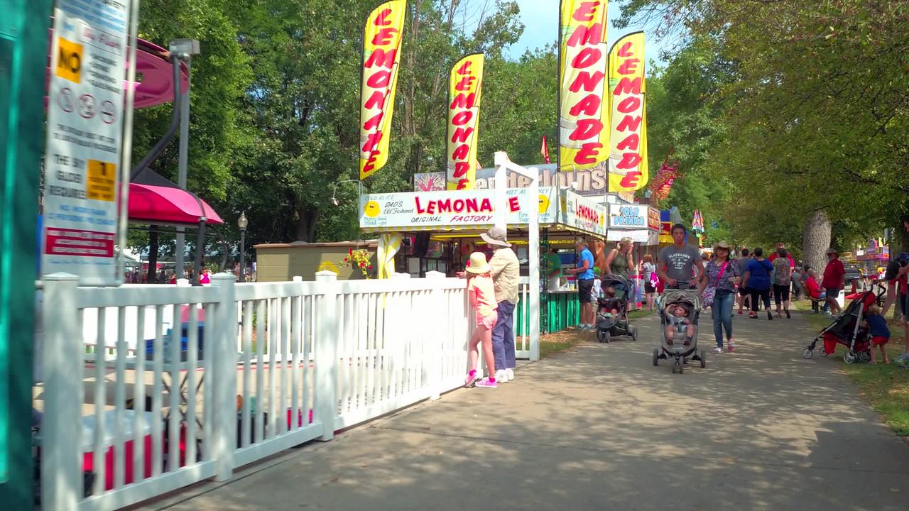 Iowa State Fair lemonade stands