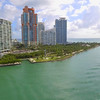 Aerial spin over Miami Beach