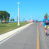 Rollerblading on Lakefront Trail Chicago