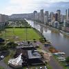 Ala Wai Canal and community park Honolulu Hawaii 4k