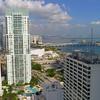 Scenic Downtown Miami aerial