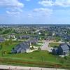 Residential neighborhood Bettendorf Iowa 4k 60p