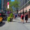 Pedestrian pov Broadway