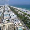 Aerial footage Ocean Drive 4k 60p