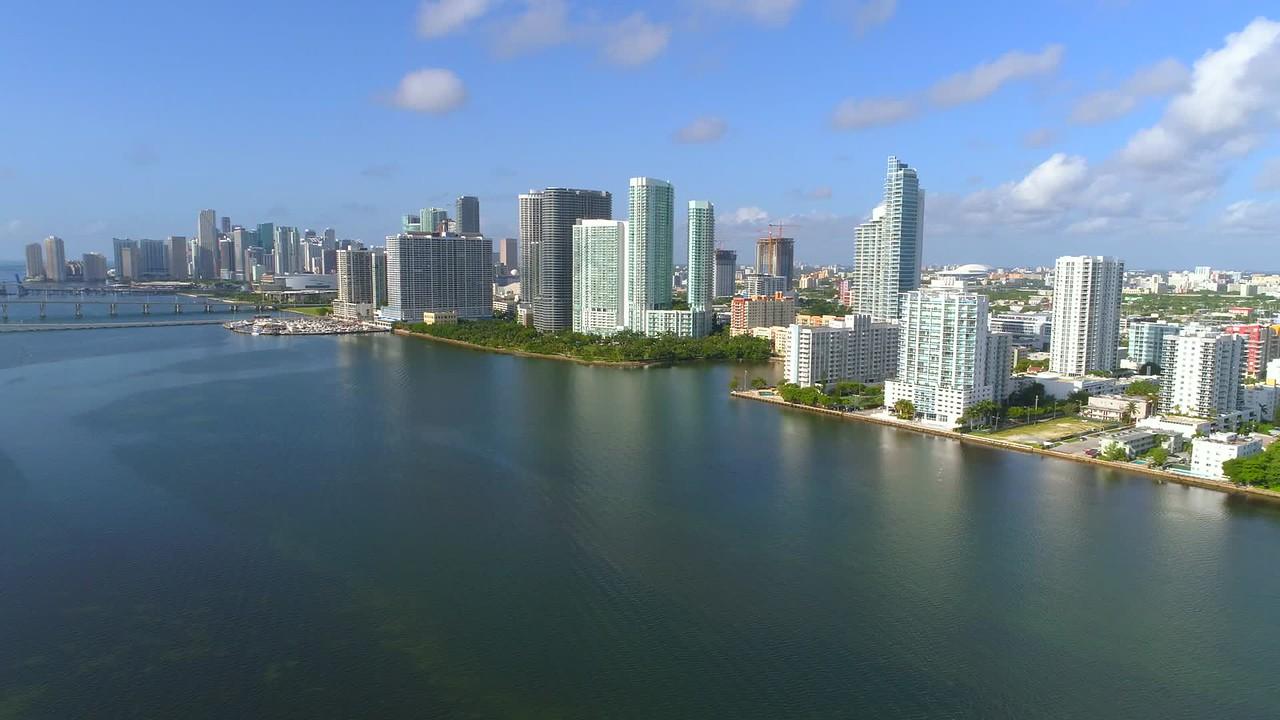 Drone Midtown Miami aeria ltour