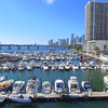Aerial footage of the Sea Isle Marina Edgewater Miami