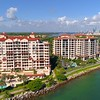 Fisher Island development Miami Beach 4k 60p