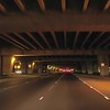 Under highway H1 in Honolulu Hawaii driving video