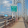 George Washington Bridge is starting to rust