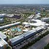 Drone shot Cabana Bay Beach Resort Orlando 4k