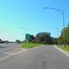 Driving lake shore drive Chicago exit Wilson Avenue