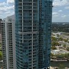 Aerial panoramic video Downtown Fort Lauderdale