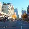 Driving to Downtown Toronto Ontario Canada