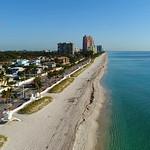 Aerial video Fort Lauderdale Beach Florida