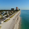 Aerial video Fort Lauderdale Beach Florida