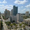 Aerial drone video of Downtown Fort Lauderdale Florida 4k 24p