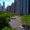 Aerial video Gold Coast Chicago IL