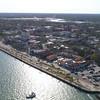 Aerial footage St Augustine FL