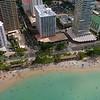 Aerial footage Waikiki Beach 4k 60p