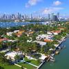 Aerial tour San Maerco Island Miami Beach
