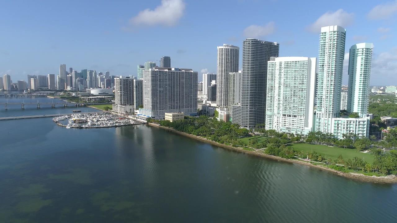 Drone Midtown Miami aerial tour