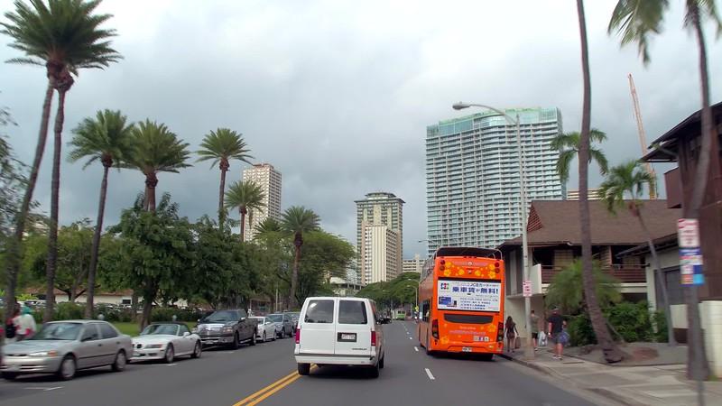 Waikiki tour trolley