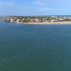 Aerial video Vilano Beach St Augustine FL