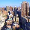 Aerial video of residential buildings in New York