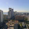 Aerial shot of Sunny Isles Beach FL