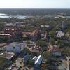 Aerial video Flagler College St Augustine