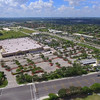 Aerial video Walmart USA