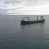 Toronto Trader cargo ship at sea