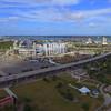 Aerial drone footage Everbank Field Jacksonville