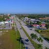Hyperlapse aerial video Key Largo Florida