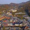 Gatlinburg 4k aerial video