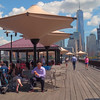 lunch break at the J. Owen Grundy Park Jersey City