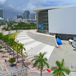 Drone video American Airlines Arena 4k