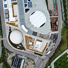 Aerial drone flyover video of the Frost Science Museum