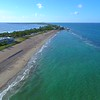 Aerial drone footage tropical Florida beaches