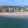 Vilano Beach Florida aerial video 4k 60p