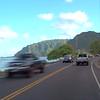 Driving tour of Hauula Oahu Hawaii