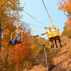 Riding the Skylift Gatlinburg Tennessee