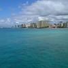 4k aerial drone video Waikiki Beach Hawaii 60p