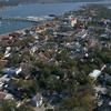 4k aerial video St Augustine Florida 60p