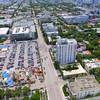 Aerial Miami Beach municipality
