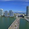 Miami Beach scenic aerial video