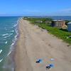 Drone video South Florida Beach 4k