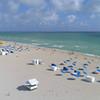 Aerial drone video Miami Beach 4k 60p
