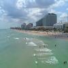 Aerial hyperlapse Fort Lauderdale Beach