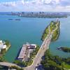 Aerial drone video Broad Causeway